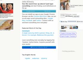 Dictionaryinstant.com thumbnail