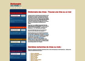 Dictionnaire-des-rimes.fr thumbnail