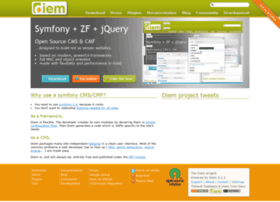 Diem-project.org thumbnail