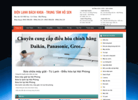 Dienlanhbachkhoa.info thumbnail