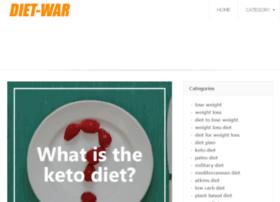 Diet-war.net thumbnail