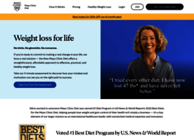 Diet.mayoclinic.org thumbnail