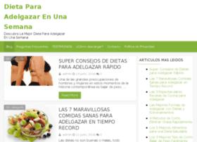 Dietaparaadelgazarenunasemana.net thumbnail
