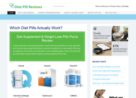 Dietpillreviews.com thumbnail