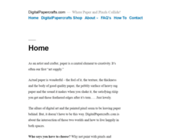 Digitalpapercrafts.com thumbnail