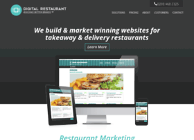 Digitalrestaurant.co.uk thumbnail