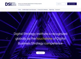 Digitalstrategyinstitute.org thumbnail