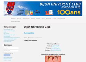 Dijonuniversiteclub.fr thumbnail