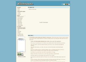Dilettante.info thumbnail