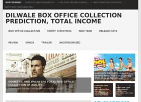 Dilwaleboxofficecollections.co.in thumbnail