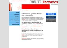 Dimex-technics.be thumbnail