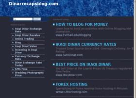 Dinarrecapsblog.com thumbnail