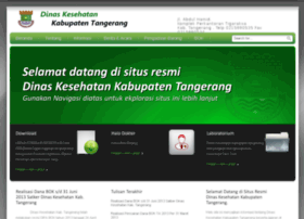 Dinkes-kabtangerang.go.id thumbnail