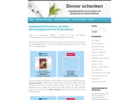 Dinner-schenken.de thumbnail