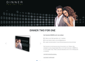 Dinner2for1.at thumbnail