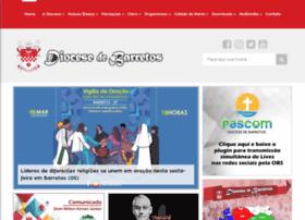 Diocesedebarretos.com.br thumbnail