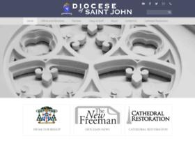 Dioceseofsaintjohn.org thumbnail