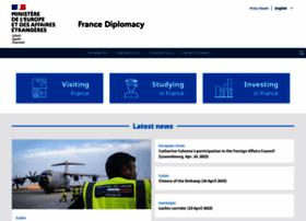 Diplomatie.gouv.fr thumbnail