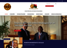 Diplomatie.gov.mg thumbnail