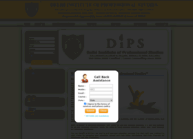 Dips.ac.in thumbnail