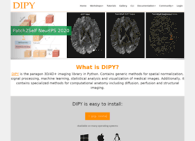 Dipy.org thumbnail