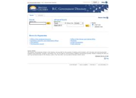 Dir.gov.bc.ca thumbnail
