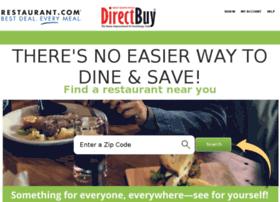 Directbuy.restaurant.com thumbnail
