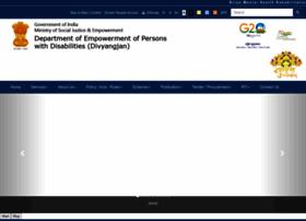 Disabilityaffairs.gov.in thumbnail