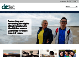 Disabilityrightsca.org thumbnail