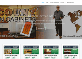 Discountkitchencabinets.ca thumbnail