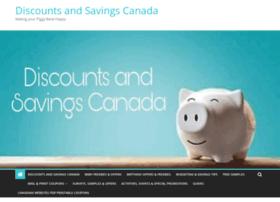 Discountsandsavings.ca thumbnail