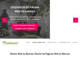 Disenowebbarinas.com.ve thumbnail