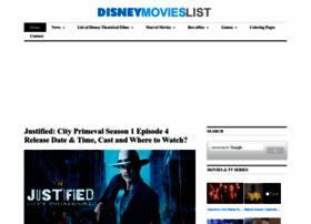 Disneymovieslist.com thumbnail