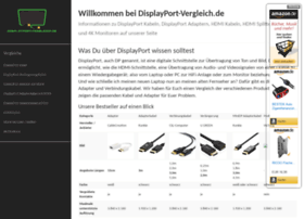 Displayport-vergleich.de thumbnail