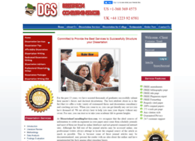 Dissertationconsultingservices.us thumbnail