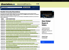 Dissertations.se thumbnail