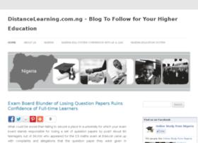 Distancelearning.com.ng thumbnail