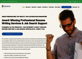 Distinctiveweb At WI Award Winning Resume Writing Services
