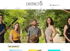 District5quintet.org thumbnail