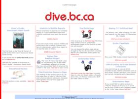 Dive.bc.ca thumbnail