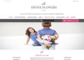 Divineflowers.cz thumbnail