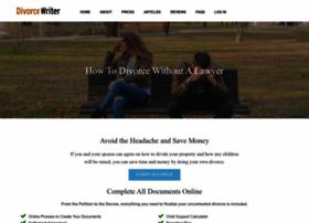 Divorcewriter.com thumbnail