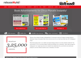 Divyamarathi.releasemyad.com thumbnail