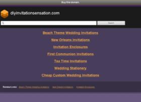 Diyinvitationsensation.com thumbnail