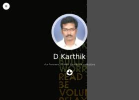 Dkarthik.in thumbnail