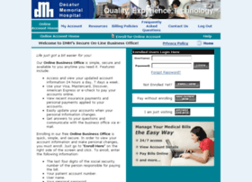 dmh.patientcompass.com at Website Informer. Decatur Memorial Hospital ...