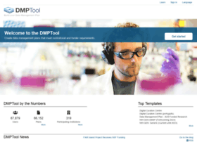 Dmptool.org thumbnail