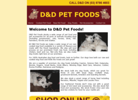 Dndpetfoods.com.au thumbnail
