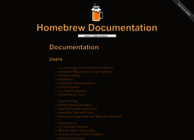 Docs.brew.sh thumbnail