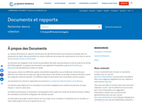 Documents.banquemondiale.org thumbnail